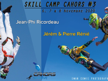 Tickets for the full event only: Cahors skill camp #3