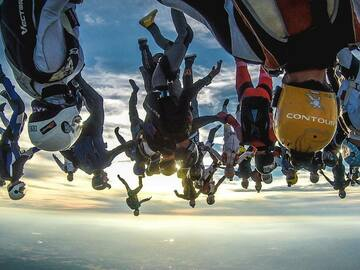 Tickets for the full event only: Record de France de Freefly 2021