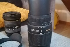 Sell: Téléobjectif : 70-300 mm F4-5,6 monture canon